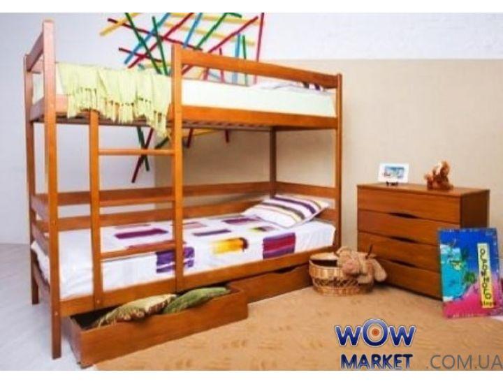 Кровать двухъярусная Дисней 80х200см Микс-Мебель Мария