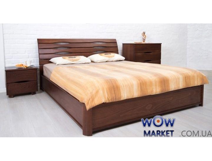 Кровать двуспальная Мария 180х200см с подьемным механизмом Микс-Мебель