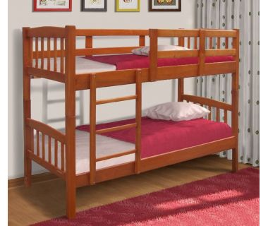 Кровать двухъярусная Бай-Бай (Сосна) 80х200см Микс Мебель Уют