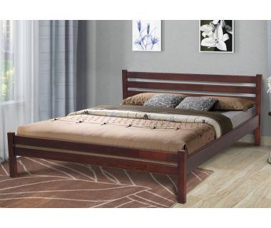 Кровать двуспальная Эко 160х200см Микс Мебель Уют