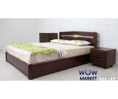 Кровать двуспальная Каролина 180х200см с подьемным механизмом Микс-Мебель Мария