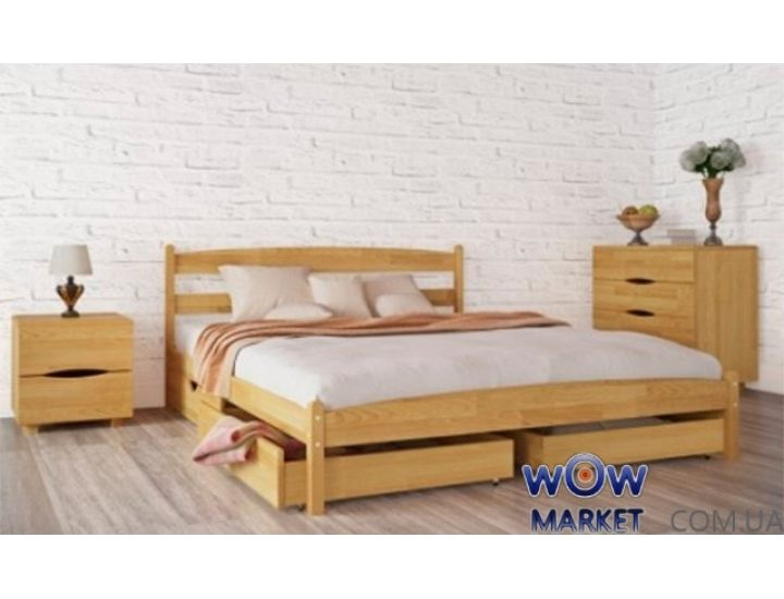 Кровать полуторная Ликерия 120 (140) х200см без изножья Микс-Мебель Мария