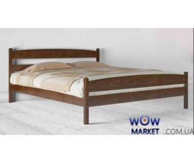 Кровать полуторная Ликерия 120 (140) х 200 см с изножьем Микс-Мебель Мария