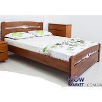 Кровать двуспальная Каролина 180х200см с изножьем Микс-Мебель Мария