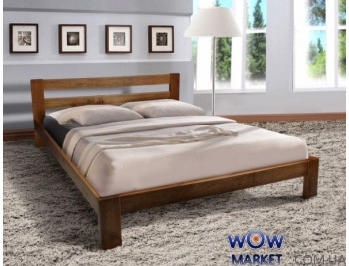 Кровать деревянная двуспальная Star (Стар) 160х200см Микс-Мебель