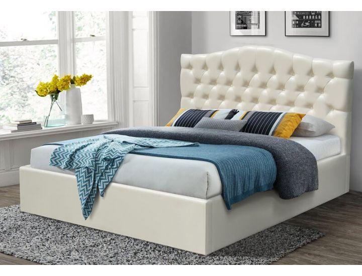 Кровать мягкая Доминика с подъемным механизмом Микс Мебель