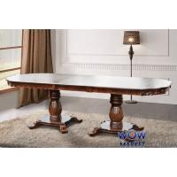 Стол раскладной Монарх 2000(+500)*1000мм, орех Микс Мебель Барон