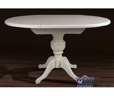 Стол раскладной Гермес (ваниль) 890(+380)*890мм Микс-Мебель Авангард
