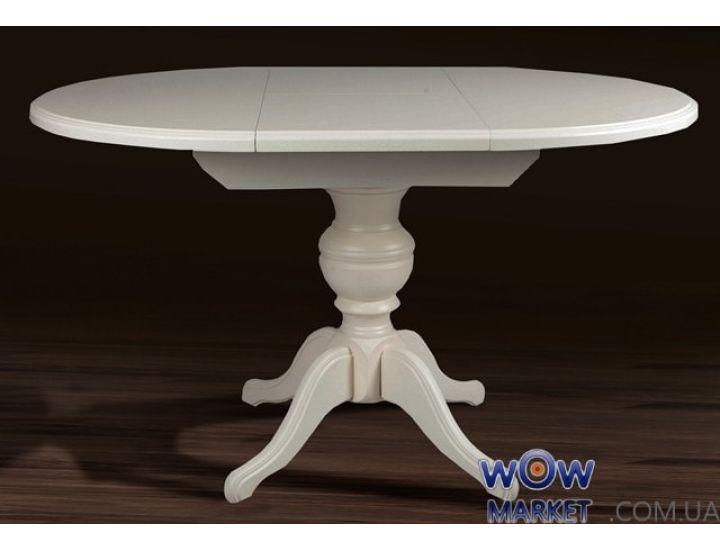 Стол раскладной деревянный Гермес (ваниль) 890(+380)*890мм Микс-Мебель Авангард