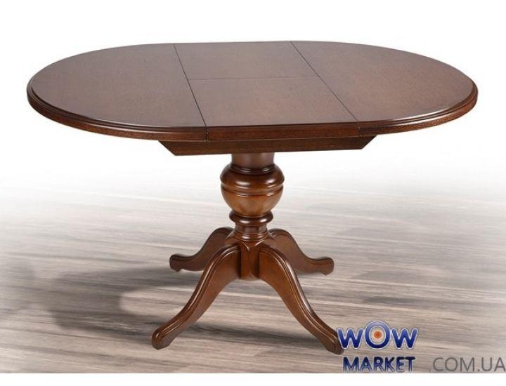 Стол деревянный раскладной Гермес (орех, венге) 890(+380)*890мм Микс-Мебель Авангард