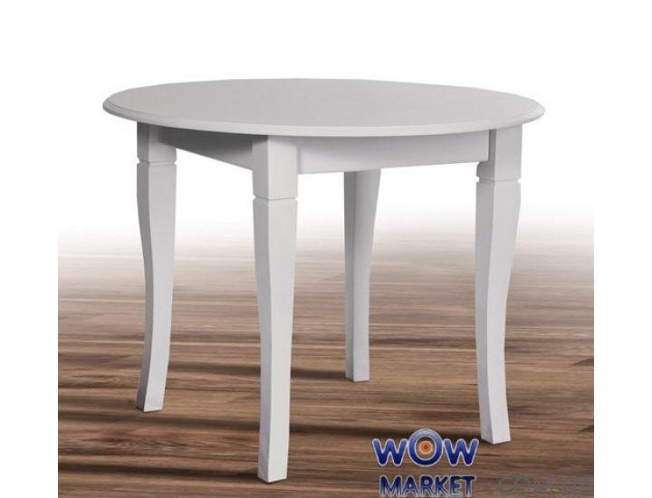Стол обеденный Остин 1000 (белый матовый) Микс-Мебель Престиж