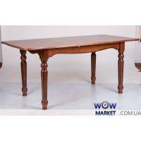 Стол раскладной Венеция 1400(+400)*850мм орех темный Микс-Мебель Палермо