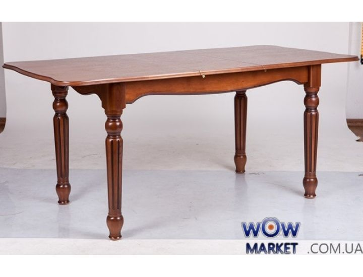 Стол раскладной Венеция 1200(+400)*800 орех+патина Микс-Мебель Палермо