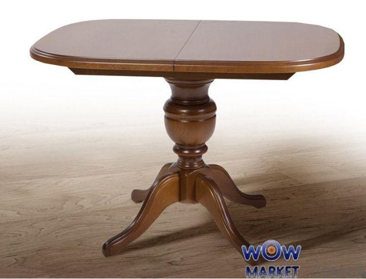 Стол раскладной Триумф 1050(+400)*750мм рустикаль Микс-Мебель Авангард