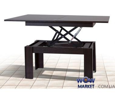 Стол-трансформер Батерфлай (венге) Микс-Мебель