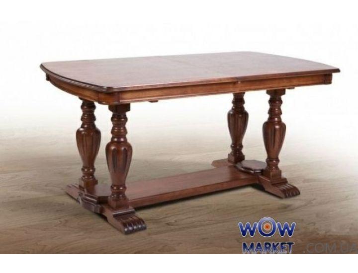 Стол раскладной Палермо 1600(+400)*900мм, орех Микс Мебель Палермо