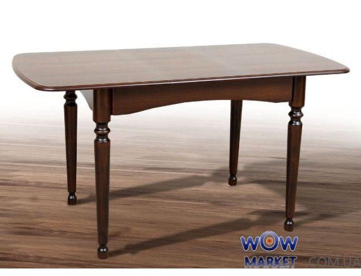 Стол раскладной Поло 1080(+320)*730мм, орех темный Микс Мебель Ультра