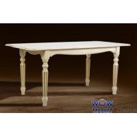 Стол раскладной Венеция 1400(+400)*850мм слоновая кость Микс Мебель Палермо