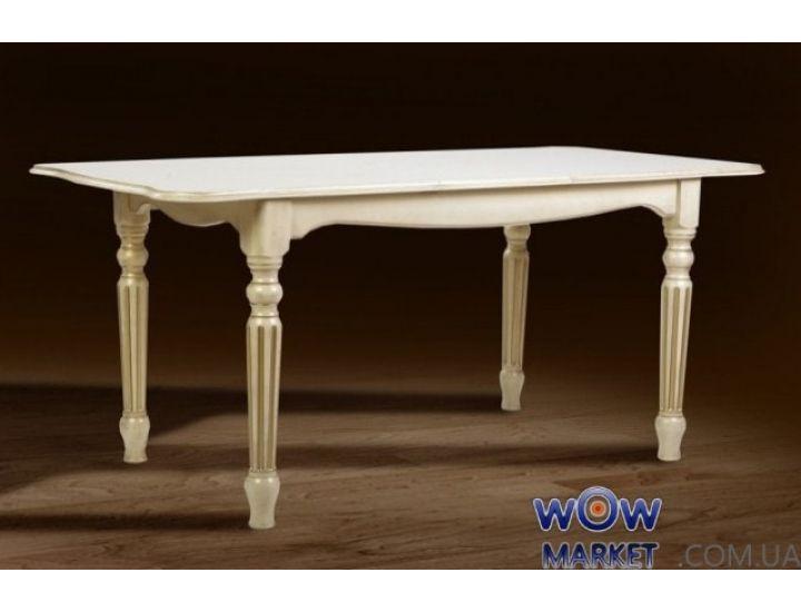 Стол раскладной Венеция 1200(+400)*850мм слоновая кость Микс Мебель Палермо
