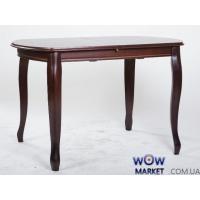 Стол раскладной Турин 1100(+300)*700мм орех темный Микс Мебель Палермо