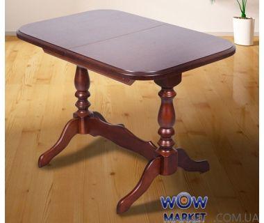 Стол раскладной Аврора 1020(+330)*685мм (орех) Микс-Мебель Авангард
