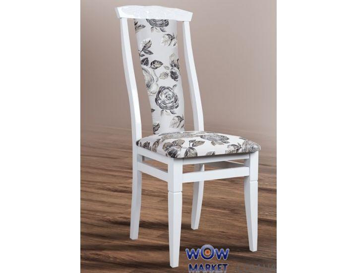 Стул деревянный Чумак 2 (белый) Микс-Мебель Карпаты