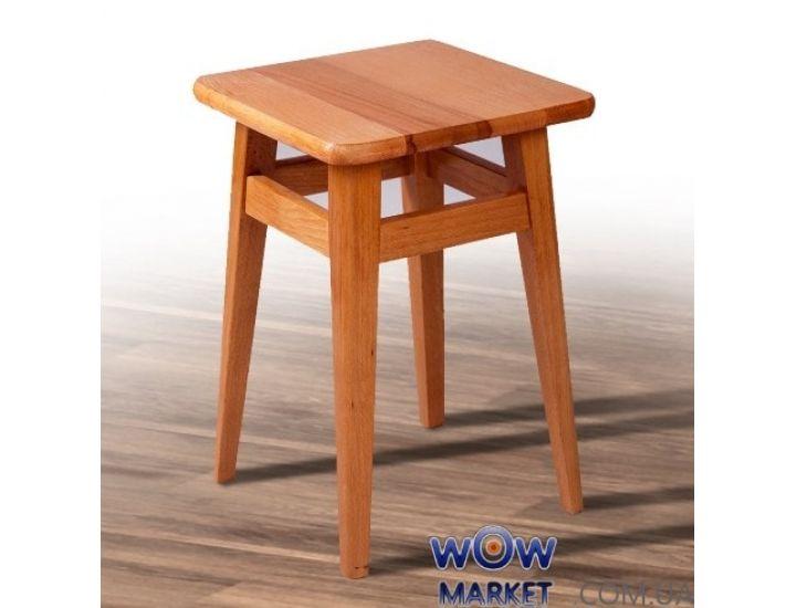 Табурет обеденный прямая нога орех Микс-Мебель Смарт