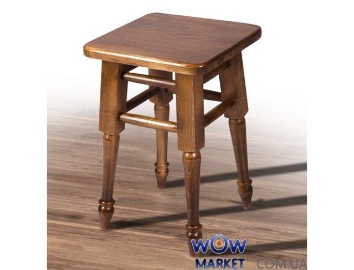 Табурет обеденный точеная нога орех Микс-Мебель Смарт
