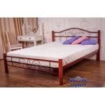 Кровать Лара (с деревянными ногами) Новуд