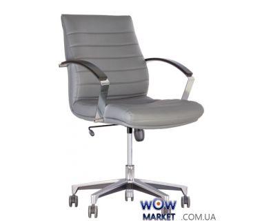 Кресло руководителя Iris steel chrome LB Tilt AL35 (Ирис) Новый Стиль