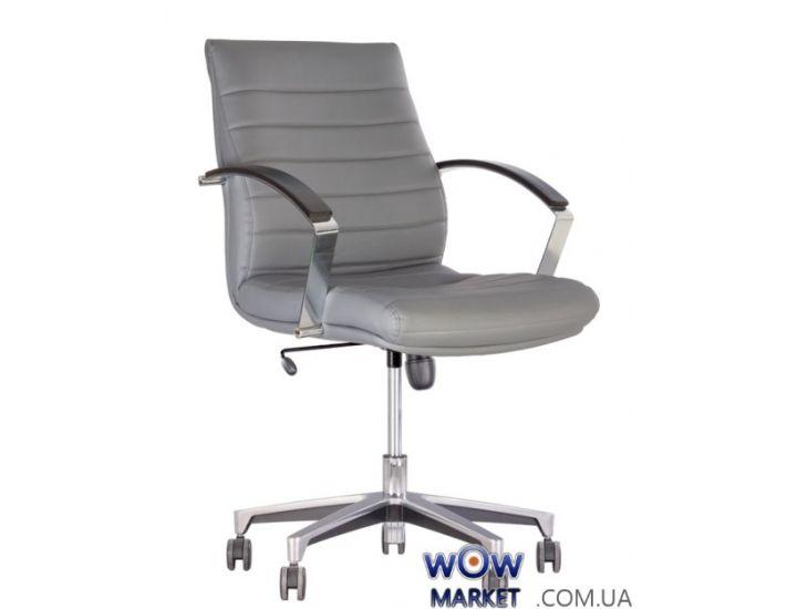 Кресло руководителя Iris (Ирис) steel chrome LB Tilt AL35 Новый Стиль