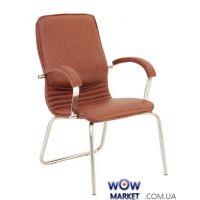 Кресло офисное Nova steel CFA LB chrome (Нова) Новый стиль