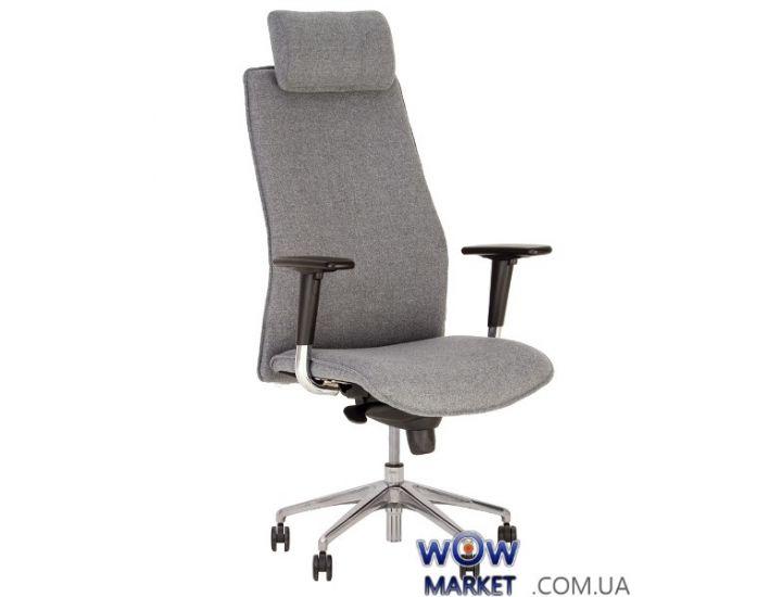 Кресло руководителя Solo (Соло) R HR steel ES AL33 Новый Стиль