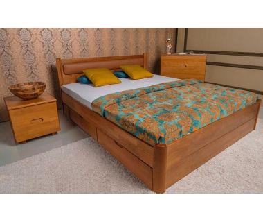Кровать Олимп мягкая Марго с ящиками