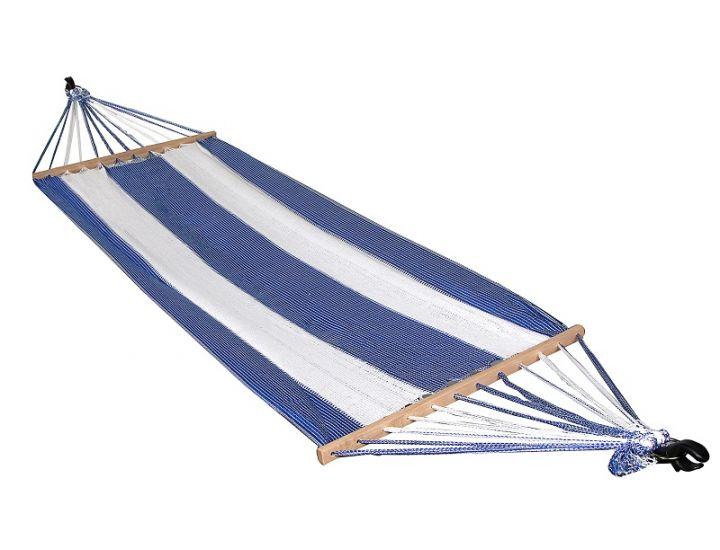 Гамак подвесной А1013 бело-синий