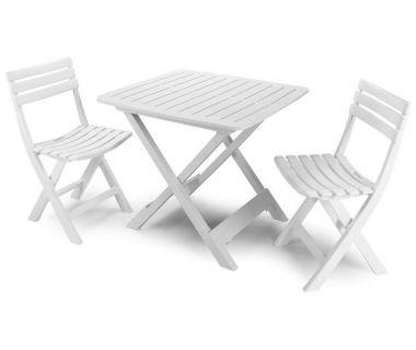 Набор мебели Camping белый