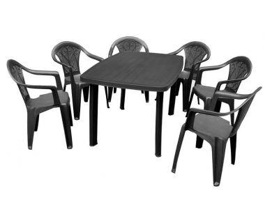 Набор мебели Faro антрацит