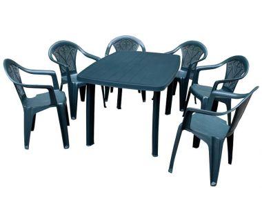 Набор мебели Faro зелёный