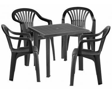 Набор мебели Fiocco антрацит