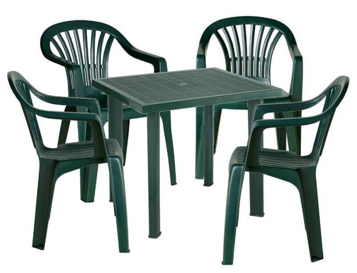 Набор садовой мебели Fiocco зелёный