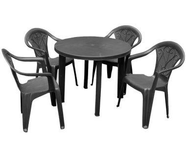 Набор мебели Tondo Altea антрацит