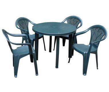 Набор мебели Tondo Altea зелёный