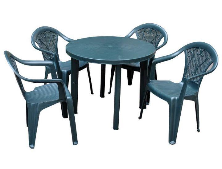 Набор садовой мебели Tondo Altea зеленый