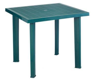 Стол пластиковый Fiocco 75x80 см зеленый