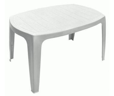 Стол журнальный пластиковый Kai 75x50 см белый