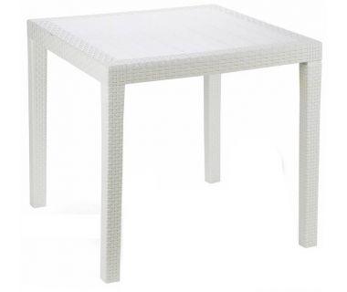Стол пластиковый King 79x79 см белый