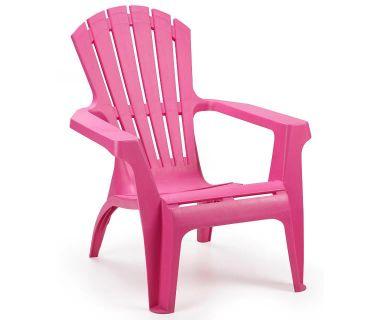 Кресло пластиковое Dolomiti фуксия
