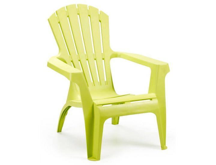 Кресло пластиковое Dolomiti лайм