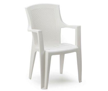 Кресло пластиковое Eden белый