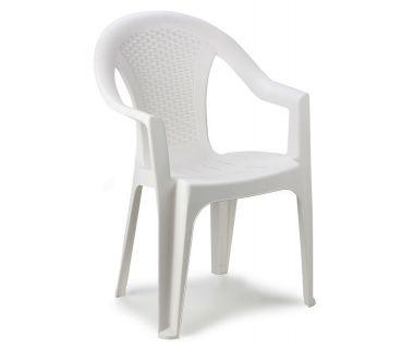Кресло пластиковое Ischia белое